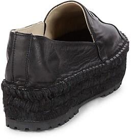 Etienne Aigner Wade Leather Espadrilles