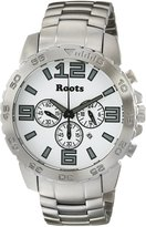 Roots Men's 1R-LF604WH0 Nominigan Analog Display Japanese Quartz Silver Watch