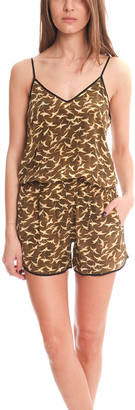 Giada Forte Bird Playsuit