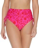 Thumbnail for your product : Raisins Juniors' Making Waves Side-Tie High-Waist Bikini Bottoms Women's Swimsuit