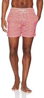 Trunks Blend Men's's 20705543 Swim Shorts, (Fiery Coral Pink 73806), Medium