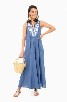 Slate Blue Cyprus Dress