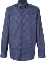 Hackett patterned fitted shirt
