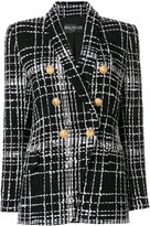 Balmain embroidered tweed blazer