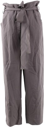 Barbara Casasola Purple Trousers for Women