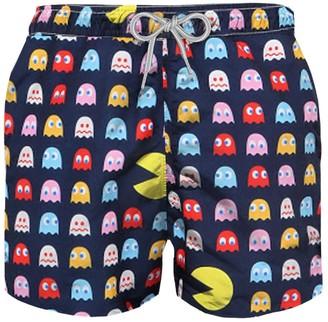 MC2 Saint Barth Pac-man Boys Swim Trunks
