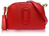 Marc Jacobs Women's Red Leather Beauty Case.