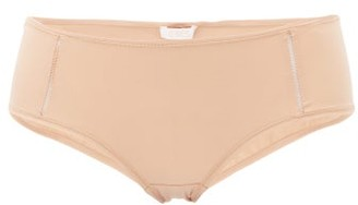 Eres Lumiere Monica Stretch-jersey Briefs - Nude