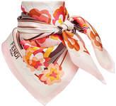 Fendi floral square scarf