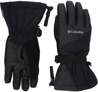 Columbia Whirlibirdtm Gloves (Black) Extreme Cold Weather Gloves