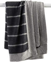 Portolano Jersey Stripe Throw