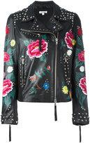 P.A.R.O.S.H. Mistery biker jacket - women - Sheep Skin/Shearling/Cotton - S
