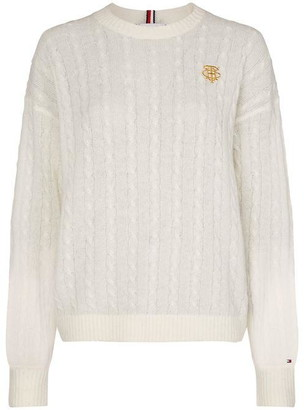 Tommy Hilfiger Essential Alpaca Cable Jumper