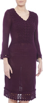 Nick & Mo Plum Sweater Dress