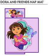 Nickelodeon Dora and Friends Nap Mat