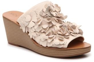 Sole Society Poppie Wedge Sandal