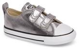 Converse Toddler Girl's Chuck Taylor All Star Seasonal Metallic Low Top Sneaker