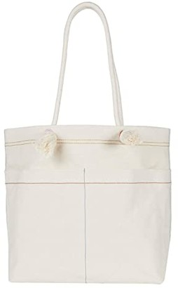 Madewell Canvas Transport Tote w/ Bungee Strap (Vintage Canvas Multi) Handbags