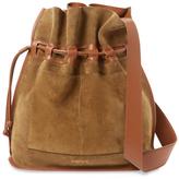 Derek Lam 10 Crosby Bowery Suede Bucket Bag