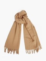 A.p.c. Camel Wool Scarf