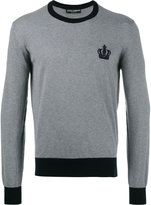 Dolce & Gabbana emblem jumper - men - Cotton - 48