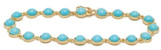 Irene Neuwirth - Turquoise & 18kt Gold Bracelet - Womens - Yellow Gold