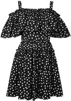 Dolce & Gabbana polka dot dress - women - Cotton/Spandex/Elastane - 42
