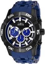 Invicta Men's Sea Spider Polyurethane Band Steel Case Quartz Watch 26533