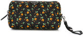 Prada tropical print make up bag
