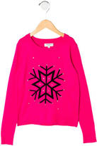 Milly Minis Girls' Crew Neck Sweater