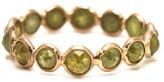 Tresor Collection - Rose cut organic diamond ring band in 18k rose gold Yellow Gold