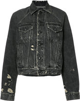 R 13 loose-fit denim jacket - women - Cotton - XS