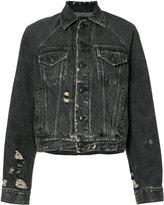 R 13 loose-fit denim jacket