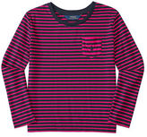 Ralph Lauren Striped Jersey Long-Sleeve Tee