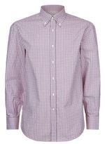 Brunello Cucinelli Checked Casual Shirt