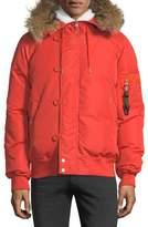 Ovadia & Sons Snorkel Down Jacket w/ Fur Hood