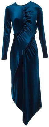 Preen Blue Velvet Dress for Women