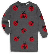Dolce & Gabbana Toddler, Little and Big Girl's Wool Ladybug Sweater Tunic