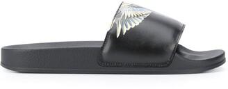 Marcelo Burlon County of Milan Wing Print Sandals