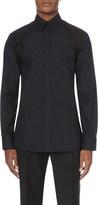 Alexander McQueen Harness-detail stretch-cotton shirt