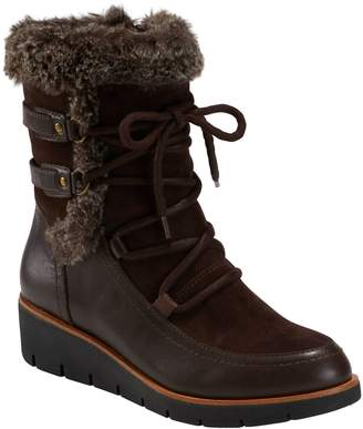 Earth Zurich Basel Faux Fur Trim Boot