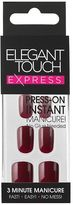 Express Nails Polished Garnet