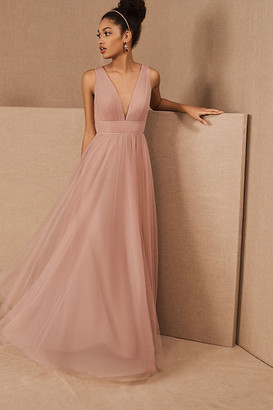 Jenny Yoo Sarita Dress By in Pink Size 0