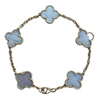 Van Cleef & Arpels Alhambra White Yellow gold Bracelets