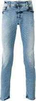 Diesel shredded trim jeans - men - Cotton/Polyester/Spandex/Elastane - 29/32