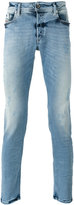 Diesel shredded trim jeans - men - Cotton/Polyester/Spandex/Elastane - 30/32