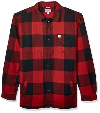 Carhartt Men's Big Rugged Flex Hamilton Fleece Lined Shirt