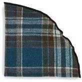 Alexander Olch Men's 'Isaac' Plaid Wool Pocket Round