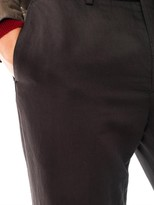 John Varvatos Cotton-blend trousers