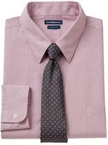 Croft & Barrow Men's Classic-Fit Striped Dress Shirt and Patterned Tie Boxed Set